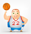 Cheerful Chubby Man Royalty Free Stock Photos