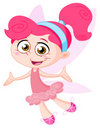 Cheerful fairy Stock Image