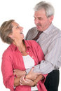 Cheerful mature couple Royalty Free Stock Photography