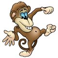 Cheerful Monkey Stock Photos