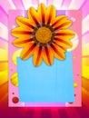 Cheerful postcard Стоковое фото RF