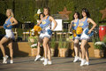 Cheerleaderki 3 ucla Fotografia Royalty Free