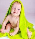 Cheery baby Royalty Free Stock Photo