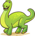 Cheery Dinosaur Royalty Free Stock Photo