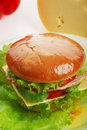 Cheesburger Royalty Free Stock Image