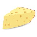 The cheese Royalty Free Stock Photos