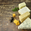Cheese Assortment Stock Image