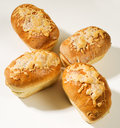 Cheese Bread Loaves Stock Photos