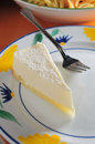 Cheese cake sponge lemon dessert Stock Photo