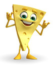 Cheese Character with teasing pose