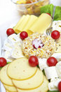 Cheese collection Royalty Free Stock Image