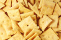 Cheese Crackers Stock Photography