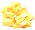 Cheese cubes Royalty Free Stock Photo