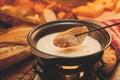 Cheese fondue Royalty Free Stock Photo