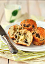 Cheese and Mushroom Muffins Royalty Free Stock Photo