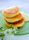 Cheese pancakes Royalty Free Stock Photo
