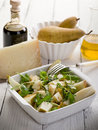 Cheese and pears salad Royalty Free Stock Images