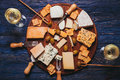 The Cheese plate Royalty Free Stock Photo