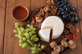 Cheese platter with fruits, homemade indian paneer