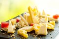 Cheese platter. Royalty Free Stock Photo