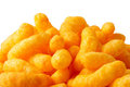 Cheese puffs Royalty Free Stock Photo