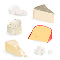 Cheese Set Royalty Free Stock Image