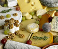 Cheese still life Royalty Free Stock Photography