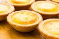 Cheese tart Royalty Free Stock Photo