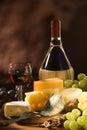 Syr a víno