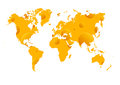 Cheese wold map big funny Stock Photos