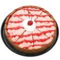 Cheesecake της Ατλάντας κεράσι Στοκ εικόνες με δικαίωμα ελεύθερης χρήσης