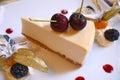 Cheesecake Royalty Free Stock Photo