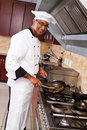 Chef cooking Royalty Free Stock Photos