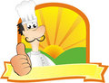 Chef illustration Stock Photos