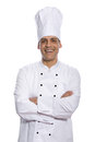 Chef With Arms Crossed Isolate...