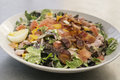 Chef salad with bacon Royalty Free Stock Photo