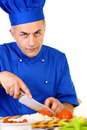Chef working Royalty Free Stock Photos