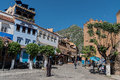 Chefchaouen, the blue city of Morocco Royalty Free Stock Photo