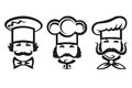 Chefs set Royalty Free Stock Image