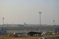 Chek lap kok airport hong kong Royalty Free Stock Images