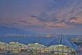 Chek lap kok airport hong kong the at Royalty Free Stock Images
