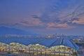 Chek lap kok airport hong kong the at Stock Photo