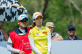 Chella Choi of South Korea in Honda LPGA Thailand 2016 Royalty Free Stock Photo