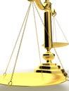 Échelle d'or Photos libres de droits