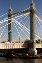 Chelsea bridge Royalty Free Stock Photography