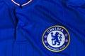 Chelsea FC emblem. Royalty Free Stock Photo