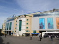 Chelsea fc stamford bridge stadium london october on october in london england football team won the champions league in Stock Photos