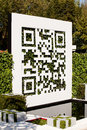 Chelsea flower show qr code london may rhs this groundbreaking garden unites cutting edge technology and horticulture this is the Stock Photos