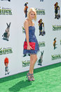 Chelsea staub at the shrek forever after los angeles premiere gibson amphitheater universal city ca Stock Photo