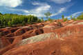 Cheltenham badlands Royaltyfria Bilder
